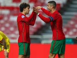 Ronaldo, Jota and Joao Felix? Santos giving little away ahead of France clash. Goal