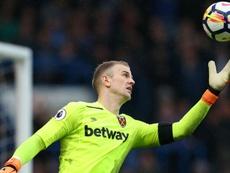 Hart revoltado por não ir à Copa. Goal