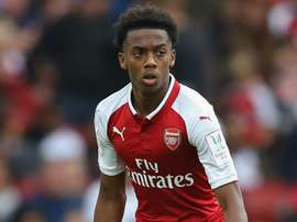 Willock has signed a new deal at Arsenal. AFP