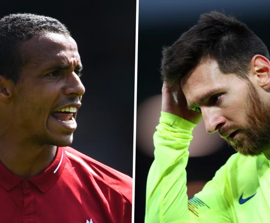 Matip se lembra de Messi na histórica partida de Anfiled. Goal