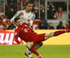 Liverpool se débarasse du Bayern. Goal