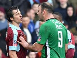 Joey Barton (left) with Matt Rhead- Goal