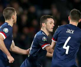 Scotland to host Israel in Euro 2020 play-off semi-finals. GOAL