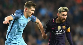Lionel Messi has reacted to Manchester City's European ban. GOAL