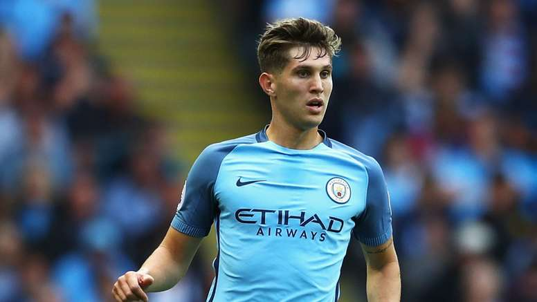 John Stones playing in a match against Sunderland. Goal