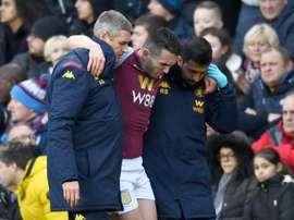 Aston Villa confirm broken ankle for Scotland star McGinn. GOAL