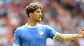 Stones to miss City v Spurs due to thigh injury. GOAL