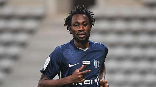 Jonathan Pitroipa du Paris FC. Goal