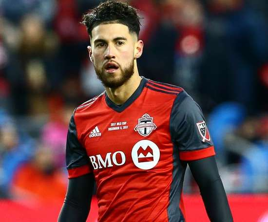 Osorio got on the score-sheet in the 4-4 draw. GOAL