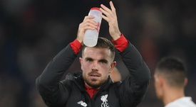 Henderson: Liverpool squad strength makes winning run easy. AFP