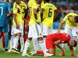 'Igual ao Neymar', Henderson incendeia a internet com simulação em lance contra a Colômbia
