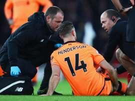 Klopp believes Henderson will return from a hamstring injury soon. GOAL
