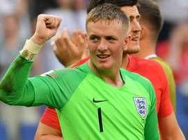 As belas defesas de Pickford ajudaram a Inglaterra a chegar até a aqui. Goal