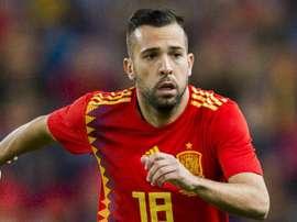 O futuro de Alba na seleção espanhola está em risco. Goal
