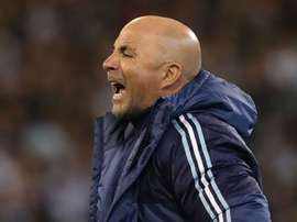 Argentina coach Jorge Sampaoli was realistic after his side romped to victory in Sinapore. AFP