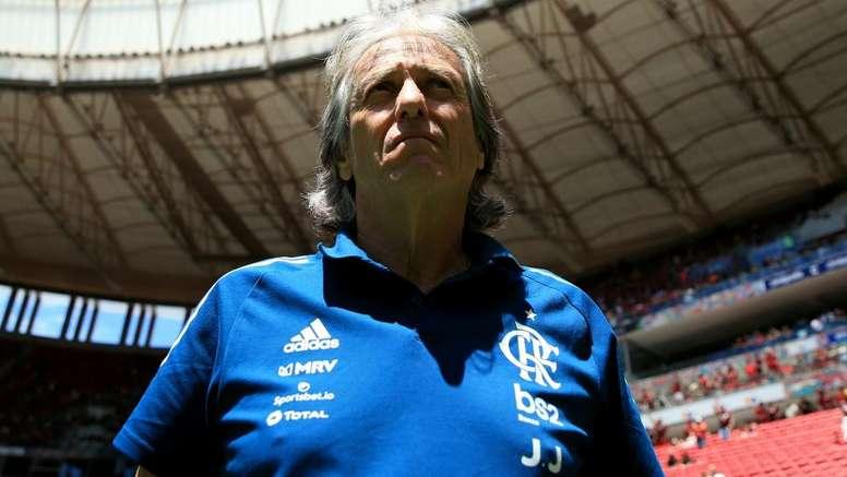 Coronavirus: Flamengo coach Jorge Jesus cleared of COVID-19. Goal