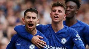 Chelsea - Brighton 2-0, premier succès à domicile pour Lampard. AFP