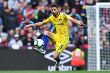 Jorginho attempted a massive 180 passes in the game. GOAL