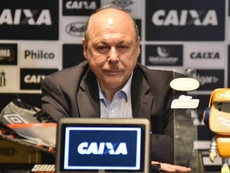 Presidente do Santos dispara.