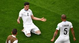 Giménez recupera. Goal