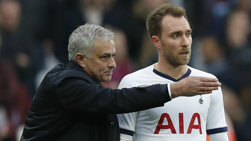 PSG, Real, Tottenham ? Mourinho connaît l'avenir d'Eriksen