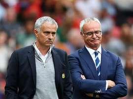 Ranieri aime Mourinho. Goal