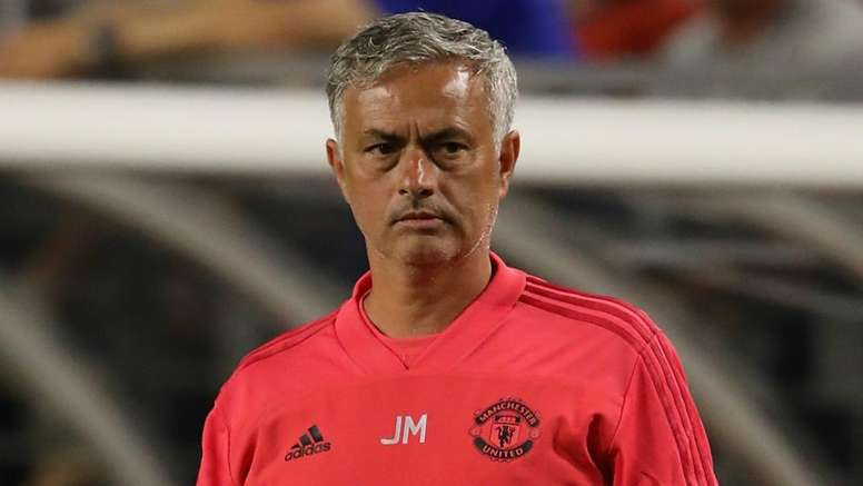 Jose Mourinho was not happy by Man Utd's transfer activity. GOAL