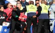 Mourinho was restrained. GOAL