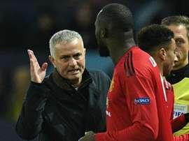Lukaku, Mourinho.