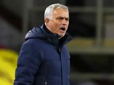 Mourinho sanctionné par l'UEFA. Goal
