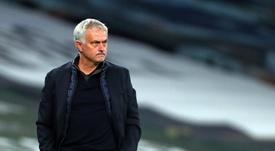 Jose Mourinho regrette les points perdus en route. afp
