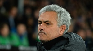 Mourinho has again defended Manchester United's Champions League exit. GOAL