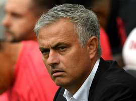Mourinho will be hoping for a better defensive display. GOAL
