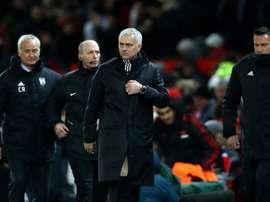 Mourinho praised his side's intensity. GOAL