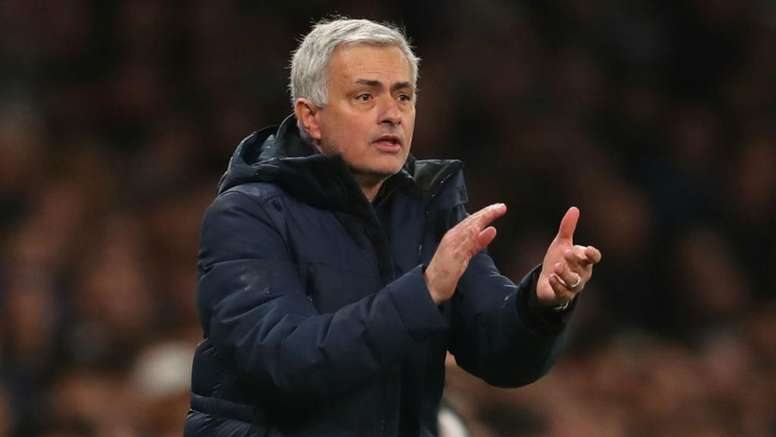 Mourinho is looking forward to his first full season in charge of Tottenham. GOAL