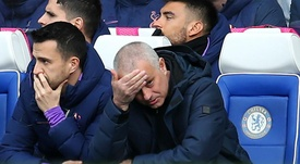 Jose Mourinho has a poor record at Stamford Bridge in the away dugout. GOAL