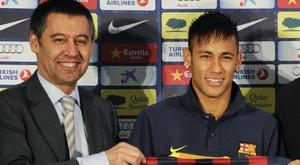 Neymar's father denies Bartomeu rift over lingering Barcelona lawsuit. Goal