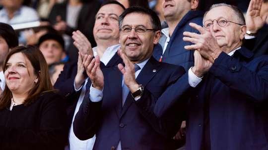 Bartomeu has revealed Barcelona could target a new defender. GOAL