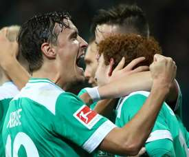 Sargent made an instant impact for Bremen. GOAL