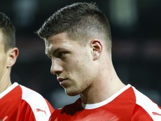 Real Madrid's Jovic injured on international duty. GOAL