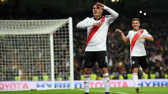 Quintero marcou um golaço. Goal