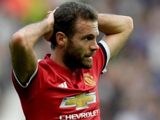 Mata was left disappointed by the loss to West Brom. GOAL
