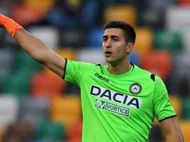Juan Musso Udinese.