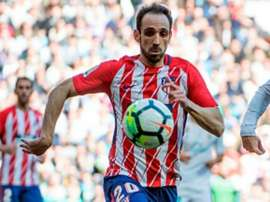 Juanfran is ready for the final. GOAL