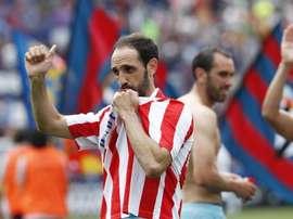 Juanfran quitte l'Atlétco de Madrid. GOAL