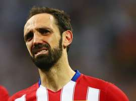 Juanfran could feature for Atletico Madrid in Thursday's Europa League clash with Sporting CP. GOAL