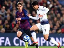 Barcelona starlet Miranda praised the influence of Lionel Messi. GOAL