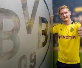 Brandt è del Borussia Dortmund. Goal