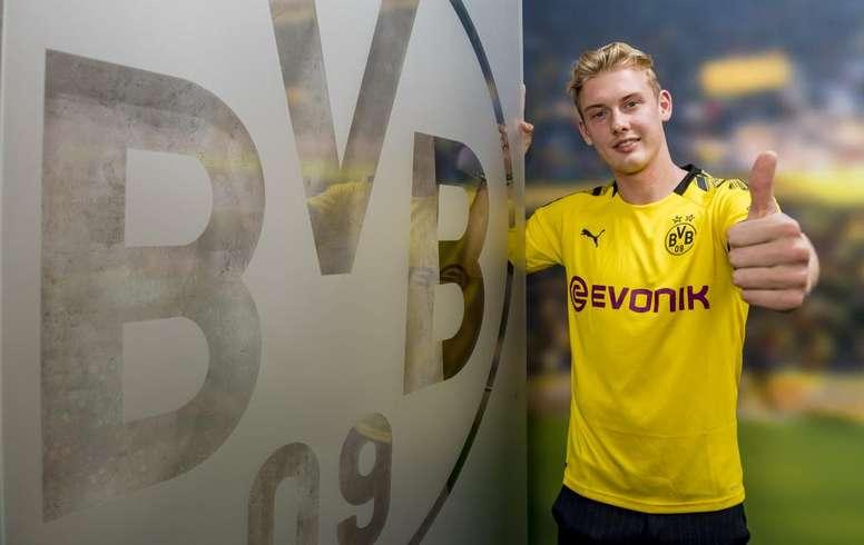 Brandt s'engage avec le Borussia Dortmund. Goal
