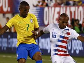 julian Green Douglas Costa USA Brazil 2018. Goal